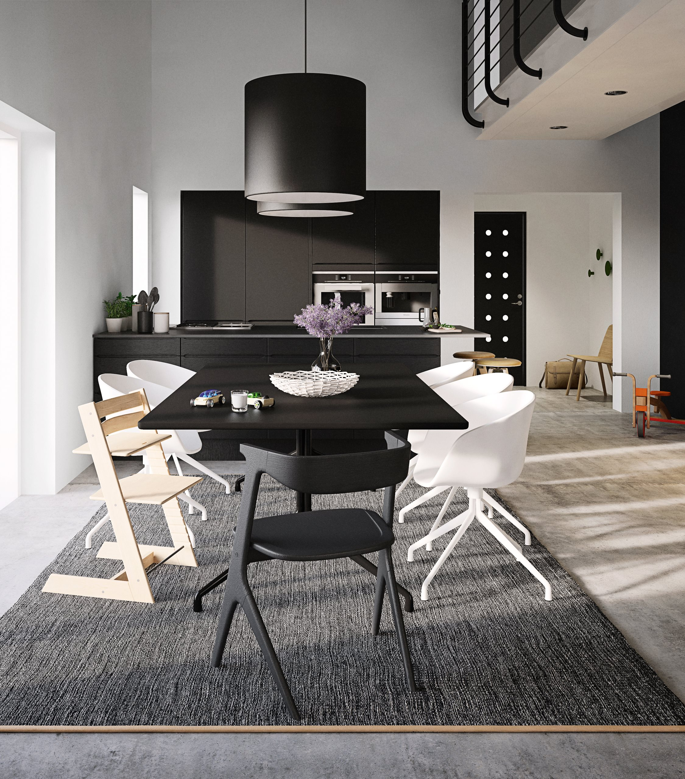 Domino-black-interior-scenery