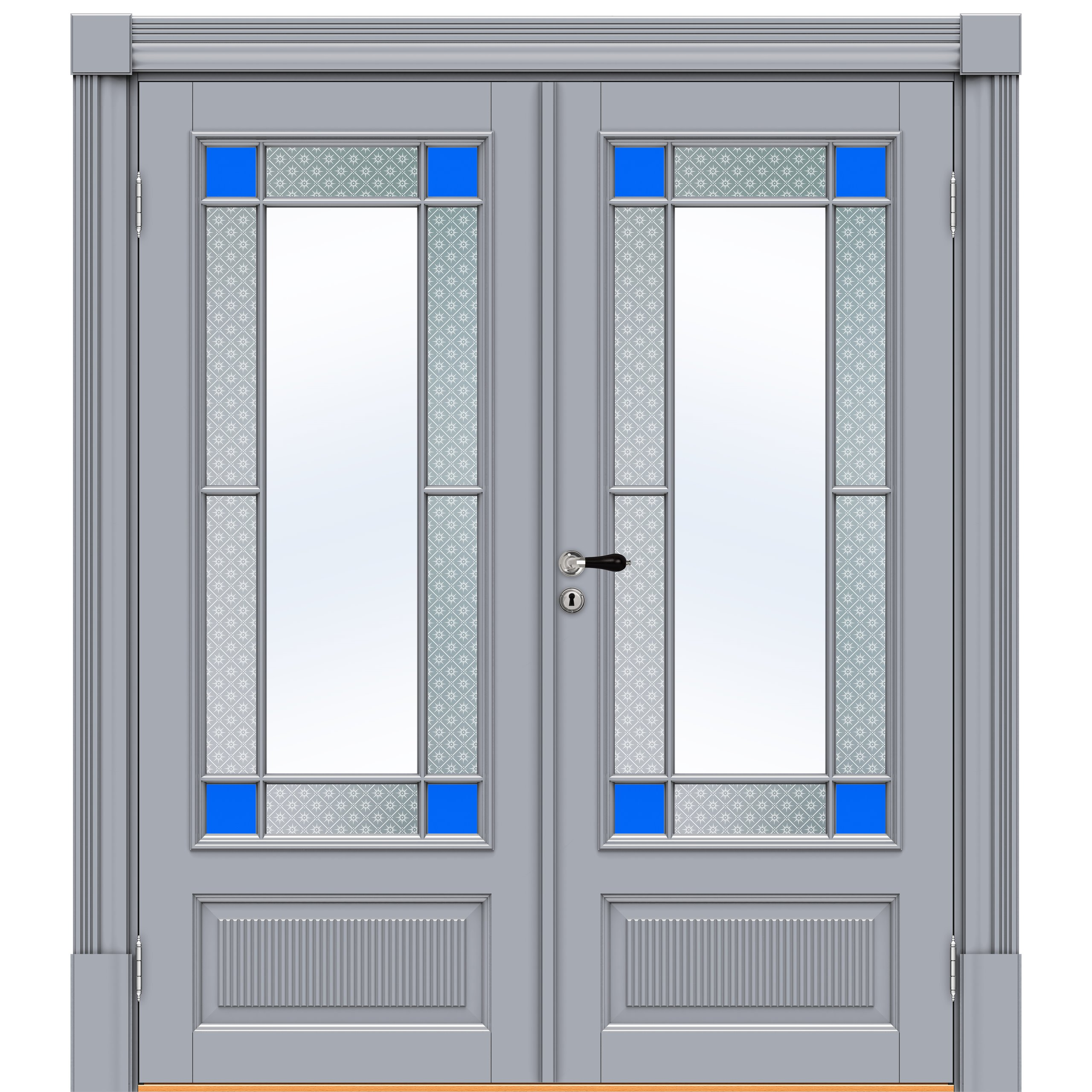 Sekel-7323,-Double,-Arch-flat,-blue,-NCS-S-3005-R80B